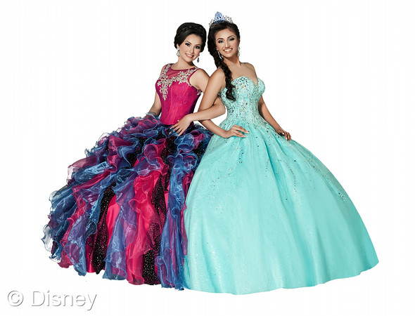 Ashdon, Inc. Unveils 2015 Disney Royal Ball Spring Quinceañera Dress Collection Featuring New Designs Inspired by Disney Frozen Characters Anna and Elsa