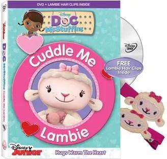 Doc McStuffins: Cuddle Me Lambie Releasing Soon on Disney DVD