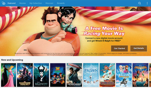 Disney Movies Anywhere is now on Google Play! Finally!