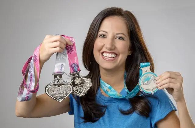 First look at the All New 2015 Disney Princess Half Marathon Medals