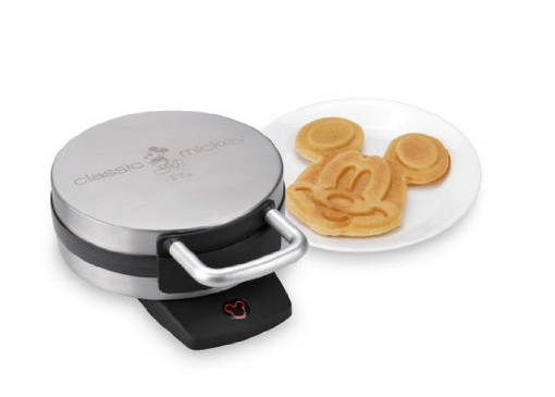Start each morning with a Mickey Mouse waffle