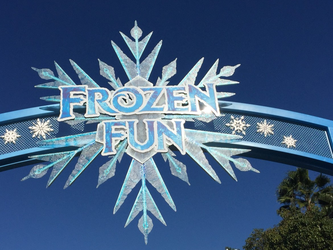 """""""For the First Time in Forever – A Frozen Sing-Along Celebration"""" Now Open at Disney California Adventure Park"""