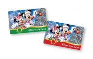 New Disney Holiday Gift Cards Now Available