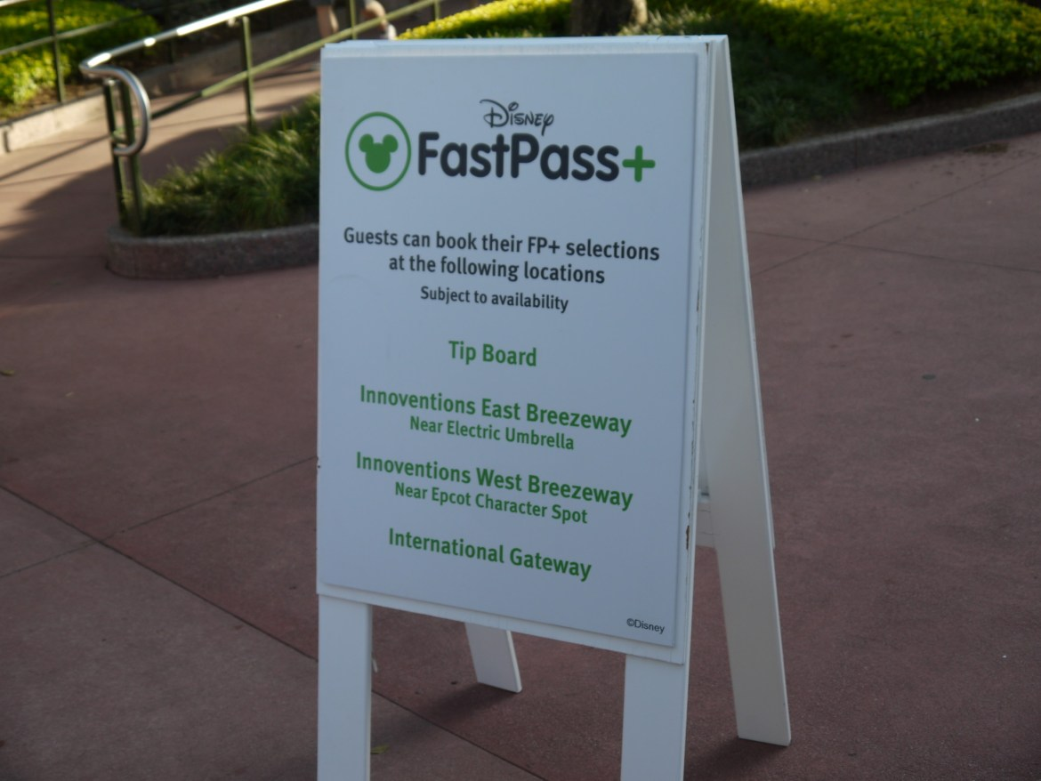 Top 3 FastPass+ Selections by Park at Walt Disney World