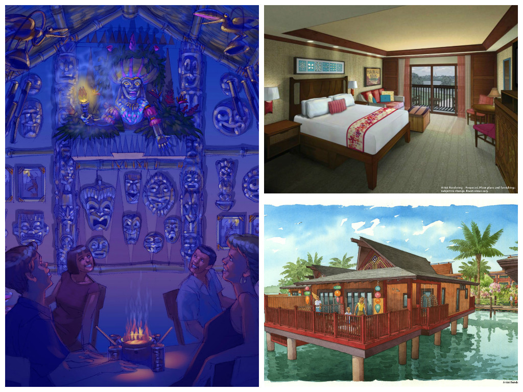 New Details Revealed for the Villas and Bungalows at Disney's Polynesian Resort
