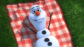 Sing along with Olaf in 17 languages on Frozen Sing Along DVD