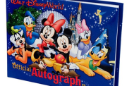 Disney Finds - Disney World Autograph Book