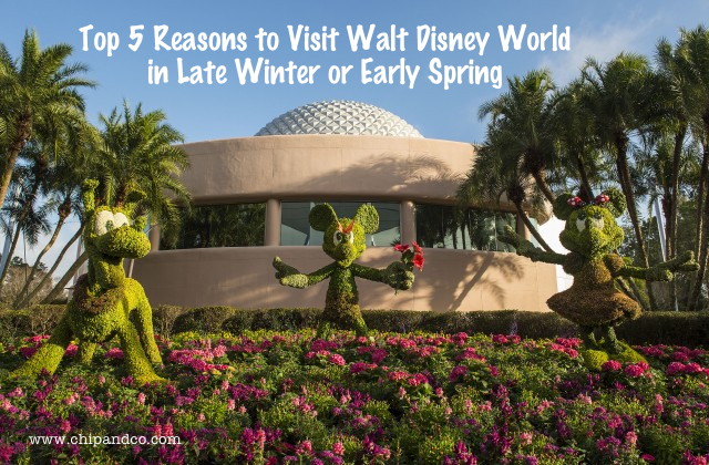 Top 5 Reason to Visit Walt Disney World During the Late Winter and Early Spring Months