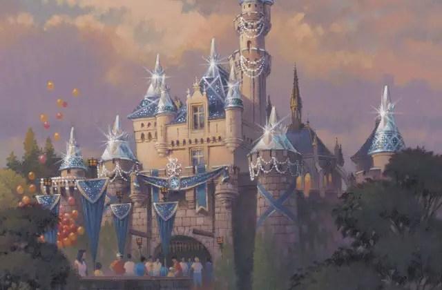 Sleeping Beauty Castle Will Sparkle for Disneyland's Diamond Celebration