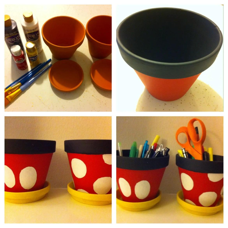 Do It Your Disney – Mickey and Minnie Planters