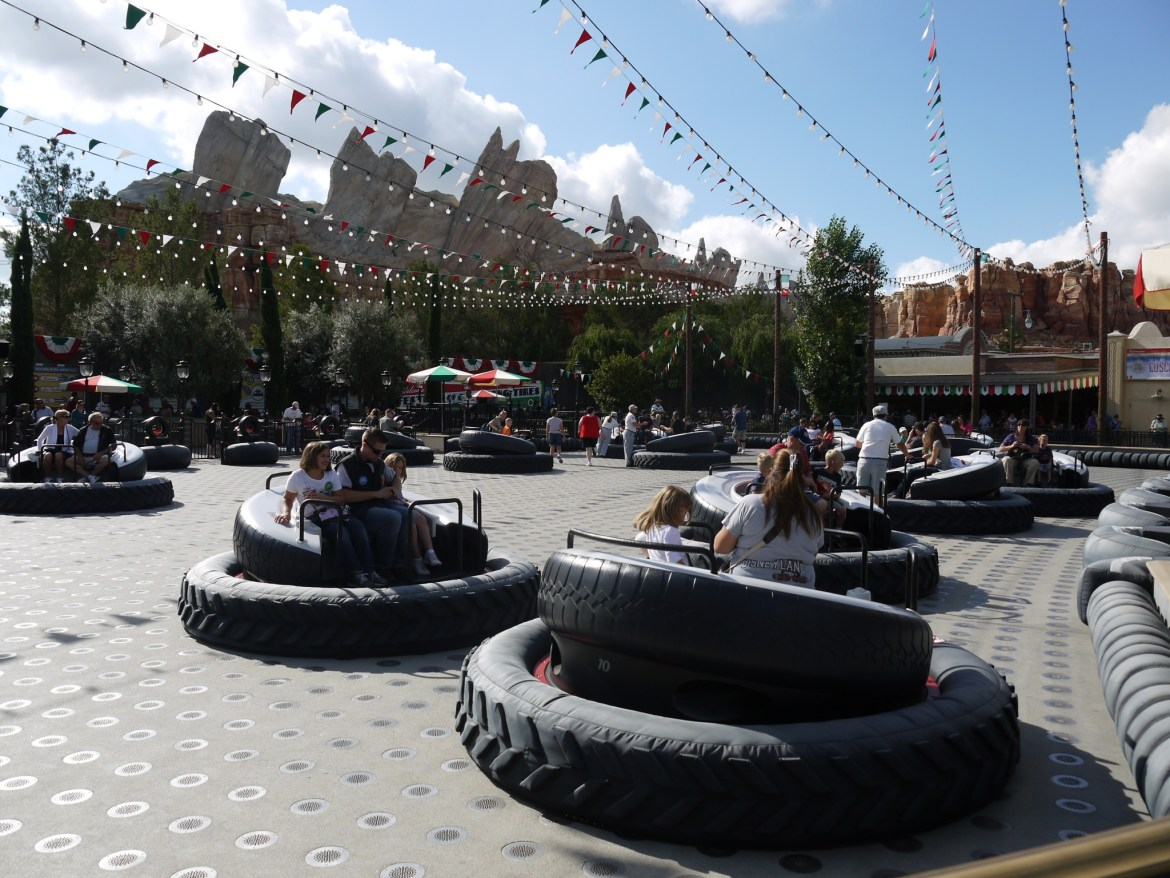 Disney to close Luigi's Flying Tires, will Open as New Attraction