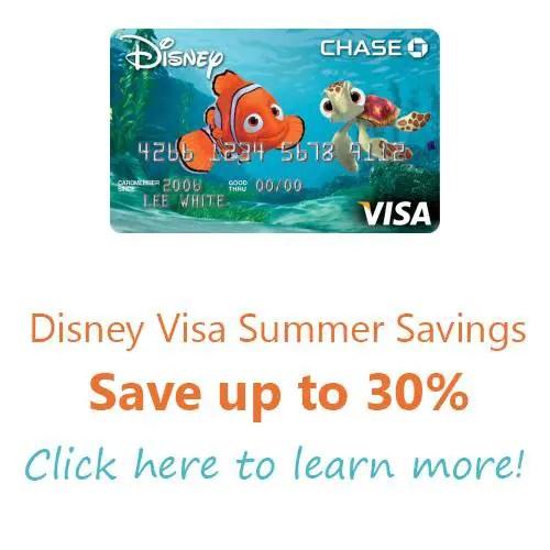 Disney Visa – Summer Room Savings! Up to 30% off!