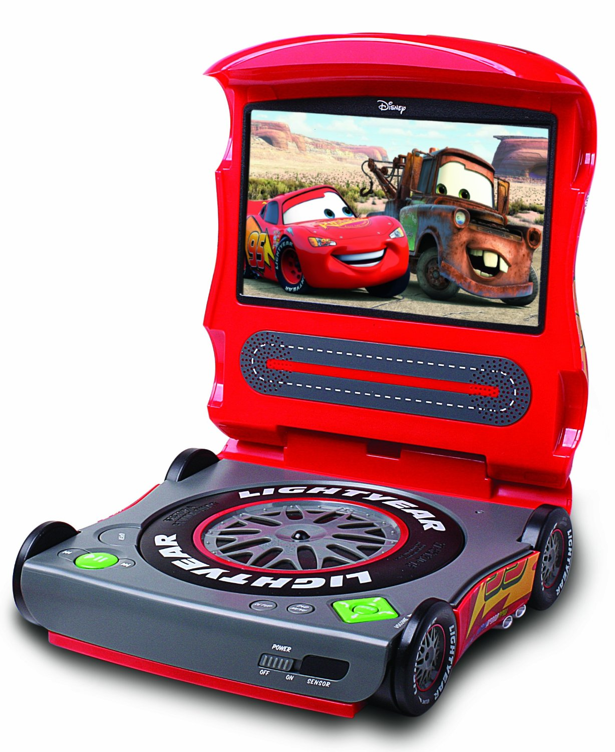 disney finds cars dvd player. Black Bedroom Furniture Sets. Home Design Ideas