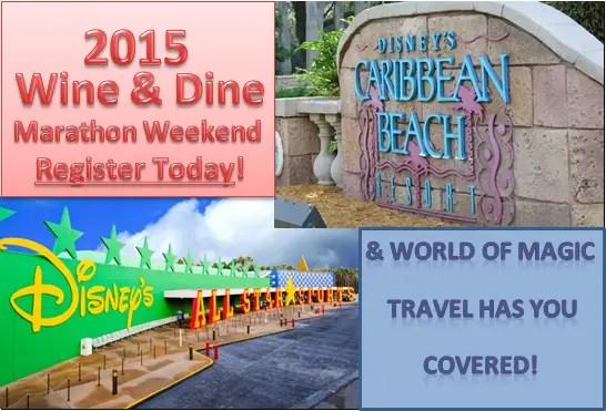 Register and Book Wine & Dine Marathon Weekend Today!