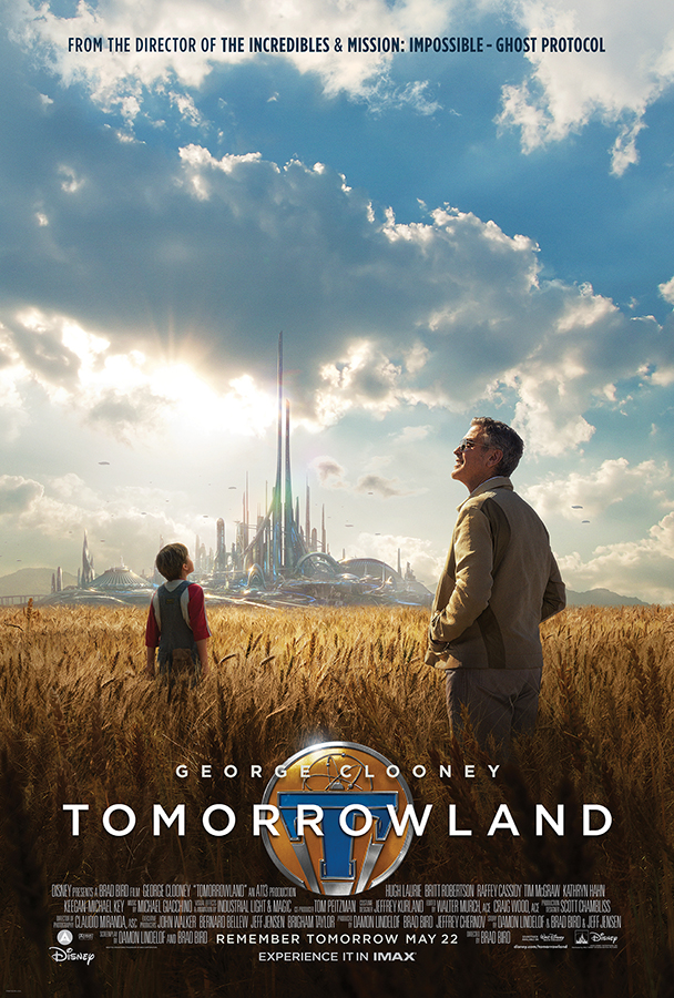 Sneak Peek of Disney's 'Tomorrowland' Coming to Disney World & Disneyland this April