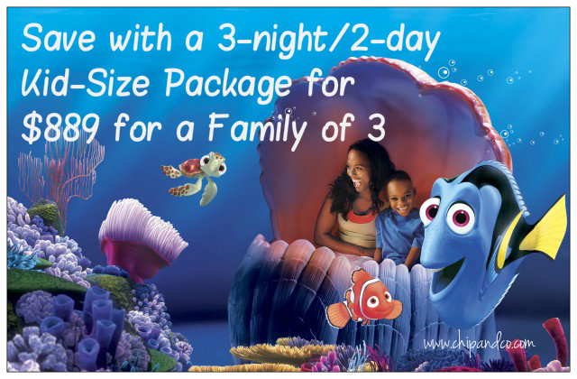 Save with a 3-night/2-day Kid-Size Package for $889 for a Family of 3