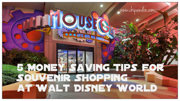 5 Money Saving Tips for Souvenir Shopping at Walt Disney World