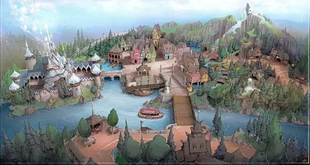 New Themes for Tokyo Disney Resort Development