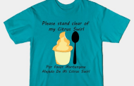 Please stand clear of my Citrus Swirl