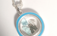 Disney Finds - Magic Kingdom and Cinderella Necklace with Charms Inside