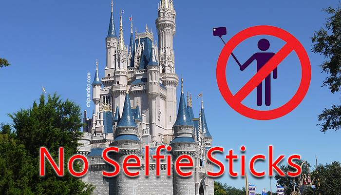 Just a Reminder Selfie Sticks Are Now Banned at Disney World and Disneyland