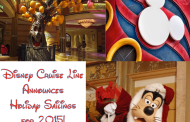 Celebrate the Holidays Aboard the Disney Cruise Line!