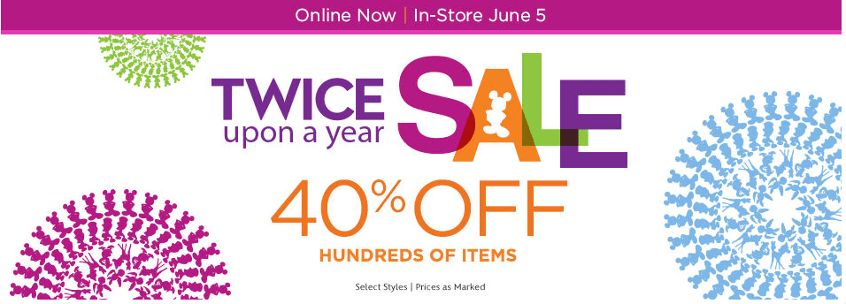 Disney Store Twice Upon a year sale!