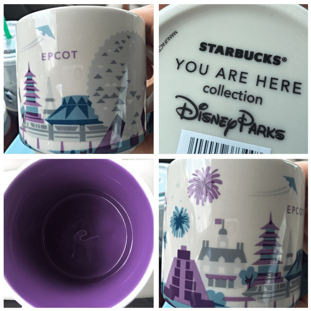 Disney Finds – Starbucks you are here mugs