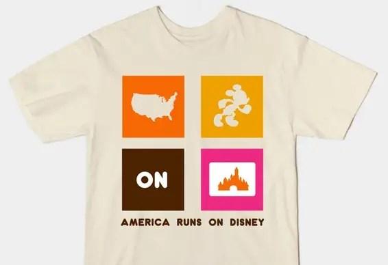 America run on Disney