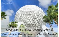 2016 Walt Disney World Vacation Packages - What's New?!