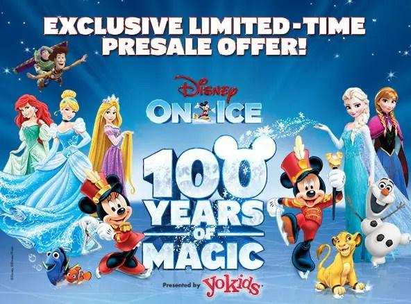 """Disney on Ice"" Celebrates 100 Years of Magic"