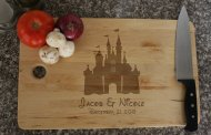 Disney Finds - Disney Princess Castle Cutting Board