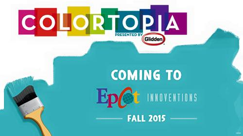 Colortopia coming to INNOVENTIONS this fall
