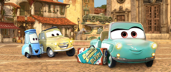 Coming Soon Luigi's Rollickin' Roadsters Rolling into Disney California Adventure Park