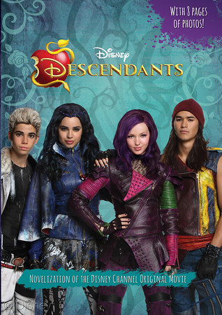 "Descendants: Junior Novel MSRP: $10.99 Available: Now Mal, Evie, Jay, and Corlos are the offspring of some of the most terrible villains of all time. They're offered a chance to leave the Isle of the Lost, where they have been imprisoned all their lives, and go to prep school in the idyllic kingdom of Auradon with all of the ""good"" kids. There, they must choose whether or not to follow in their parents' evil footsteps. Watch out Auradon--here come the Descendants!"