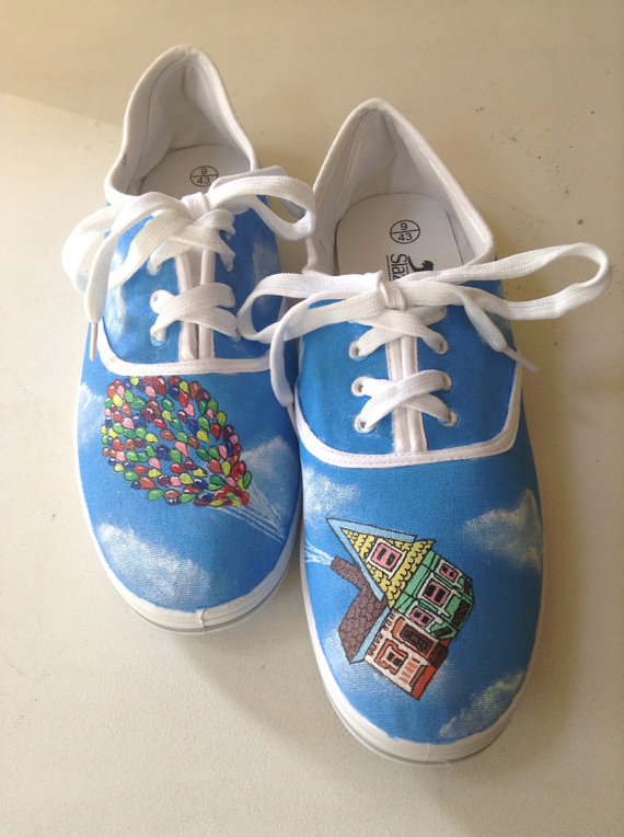Disney Finds – Hand Painted Disney Shoes