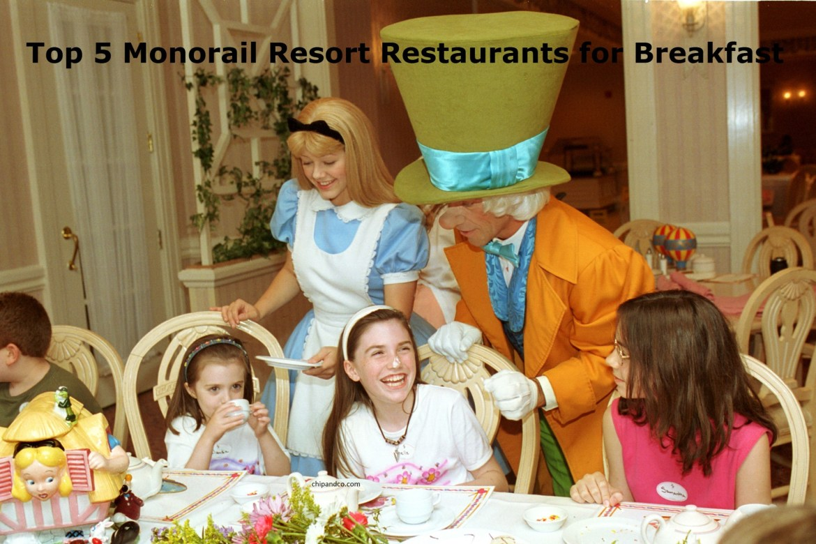 Top 5 Monorail Resort Restaurants for Breakfast