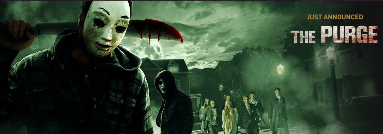 Universal Orlando's-Halloween Horror Nights 25-The Purge!