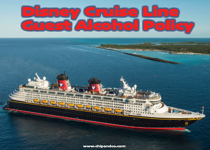 Disney Cruise Line Announces New Guest Alcohol Policy