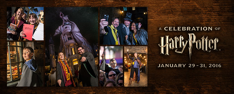 """Universal Orlando-January 29-31, 2016, """"A Celebration of Harry Potter."""""""