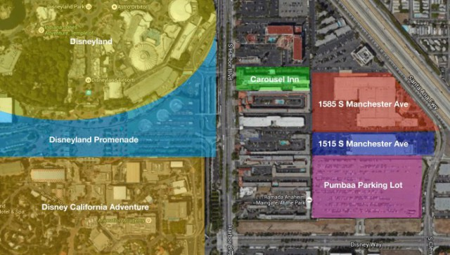 Disney Purchases New Land Across from Disneyland
