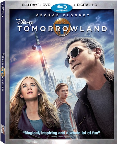 Review – Tomorrowland on Blu-ray Combo Pack