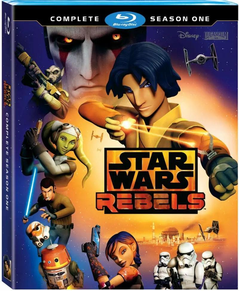 STAR WARS REBELS: SEASON ONE Blu-ray Review