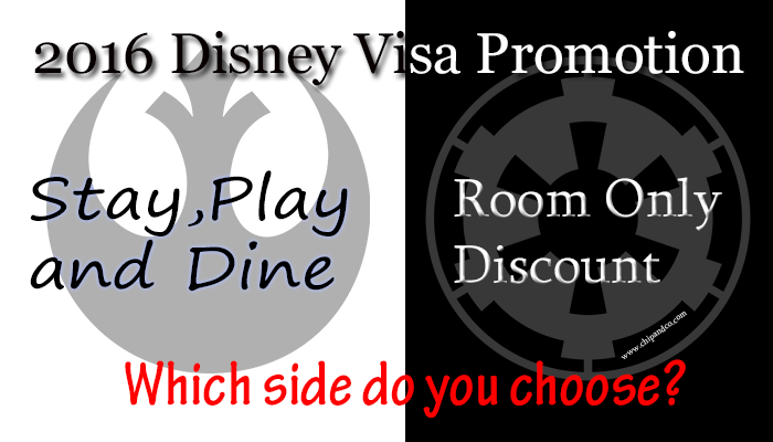 New Disney Visa Discount Packages Are Now Available!
