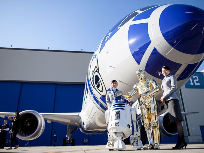 Japanese Airliner Unveils Plane Made to Look Like Star Wars Droids