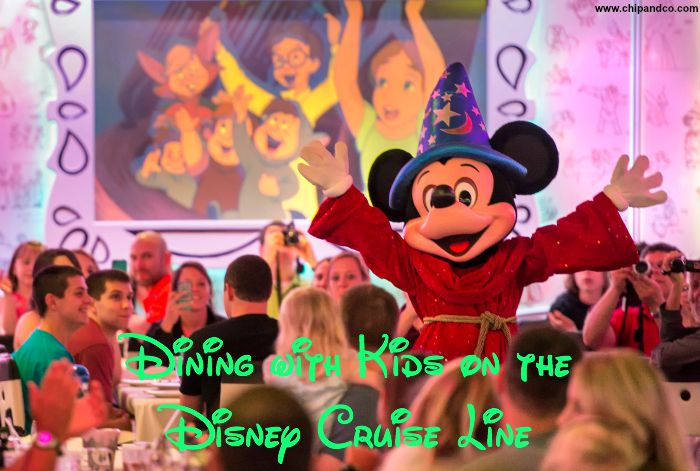 Dining with Kids on the Disney Cruise Line
