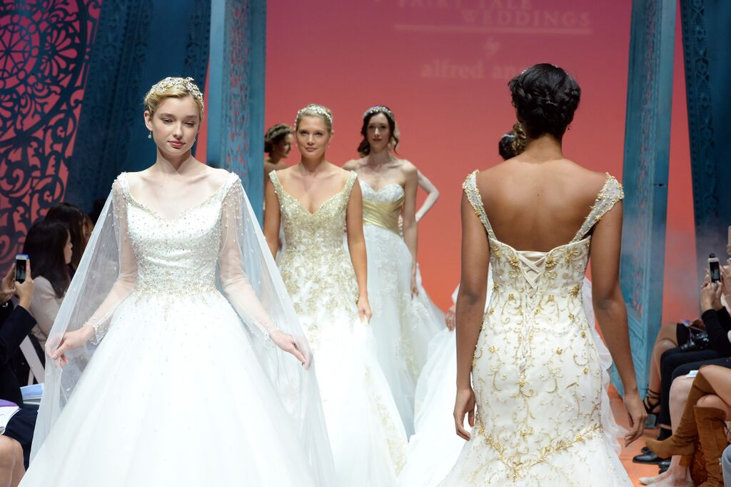 Alfred Angelo Unveiling Its 2016 Disney Fairy Tale Weddings Bridal Collection