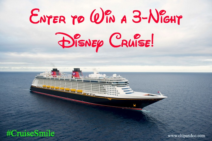 Enter to Win a Disney Cruise with the #CruiseSmile Sweepstakes!