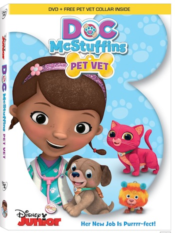 Doc McStuffins: Pet Vet  Coming to DVD November 3rd