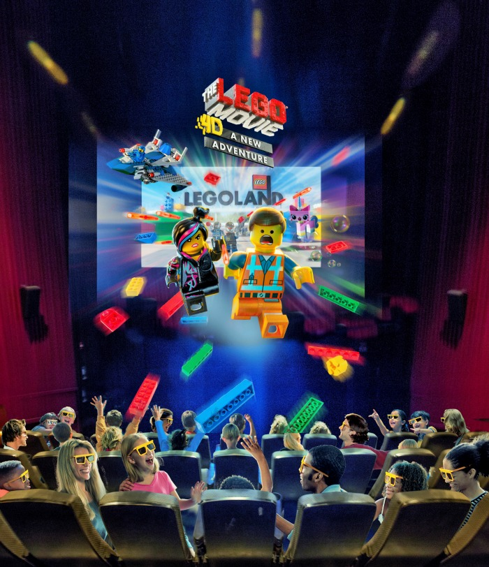 """THE LEGO MOVIE 4D A NEW ADVENTURE"" Brings More Awesome to LEGOLAND"